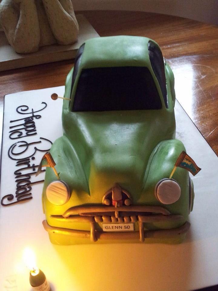 3D FJ Holden birthday cake, celebrating my 50th