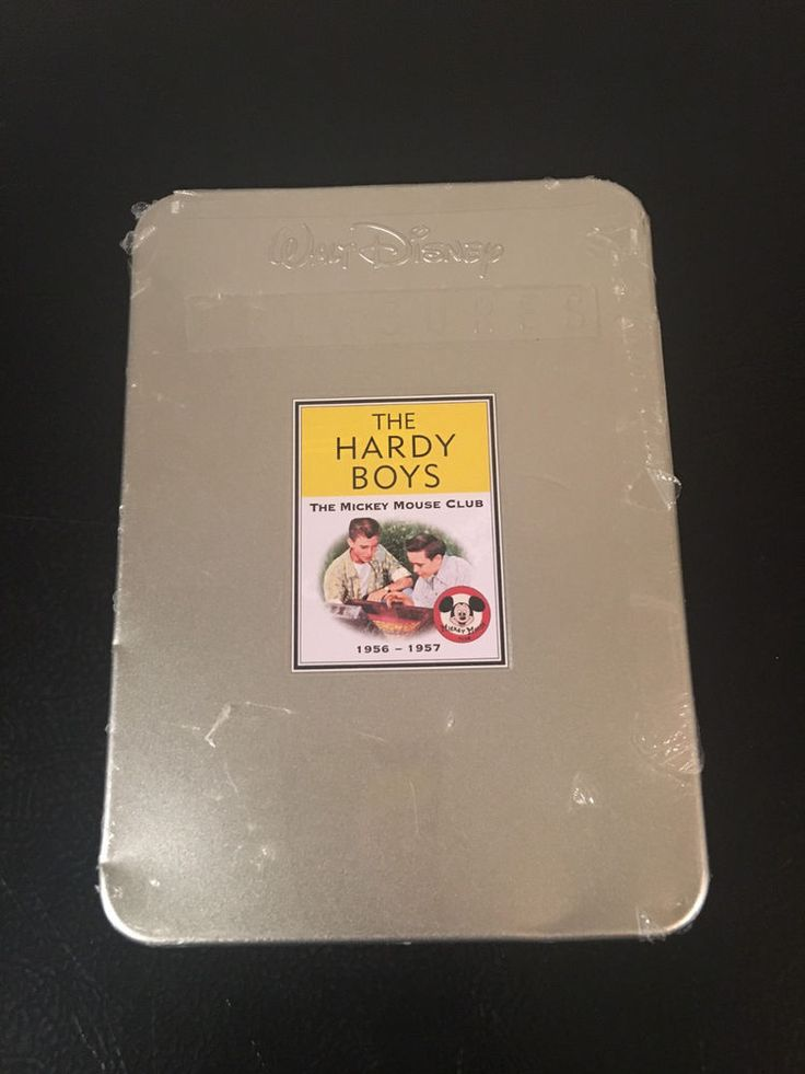 NEW-SEALED Walt Disney Treasures THE HARDY BOYS Mickey Mouse Club 1956-1957 DVD