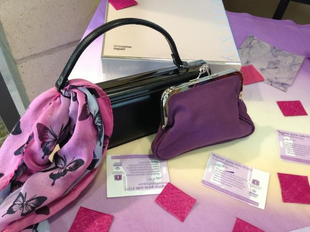 YWCA talks about domestic violence with the Purple Purse