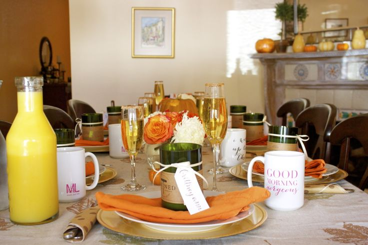 Fall Inspired Brunch Party