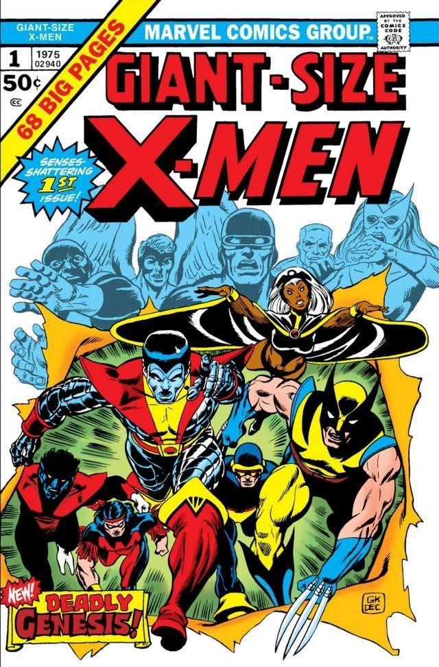 Giant Size X Men 1975 1 Comics By Comixology Marvel Comic Books Comic Book Covers Comic Covers