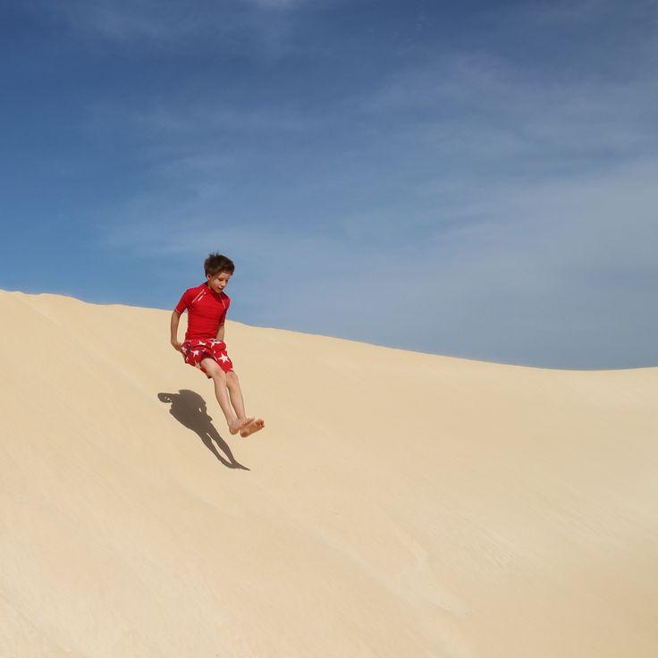 Roderic - Cabo Verde - sand, beach, jump