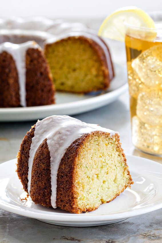 Lemon Zucchini Cake is light, delicious and loaded with bright, lemony flavor. A sweet and tangy lemon glaze takes it over the top.