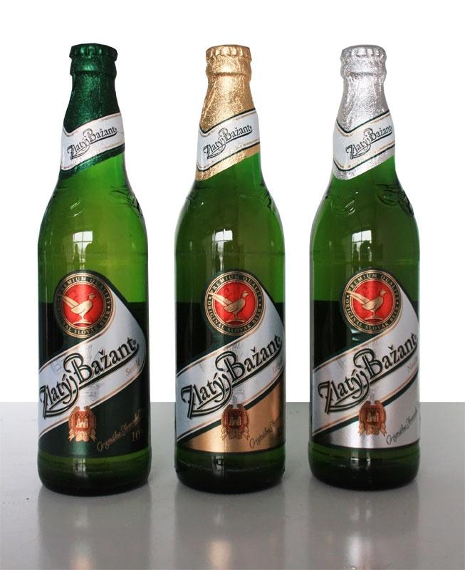 Zlaty Bazant-Slovak beer- Cerveza Eslovaca (lbk)