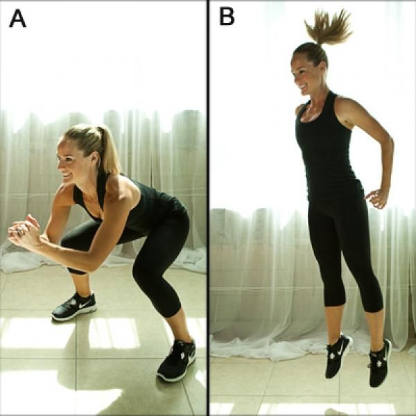 Kneeling Roundhouse Kick - Best Thinner Legs Workout - Shape Magazine