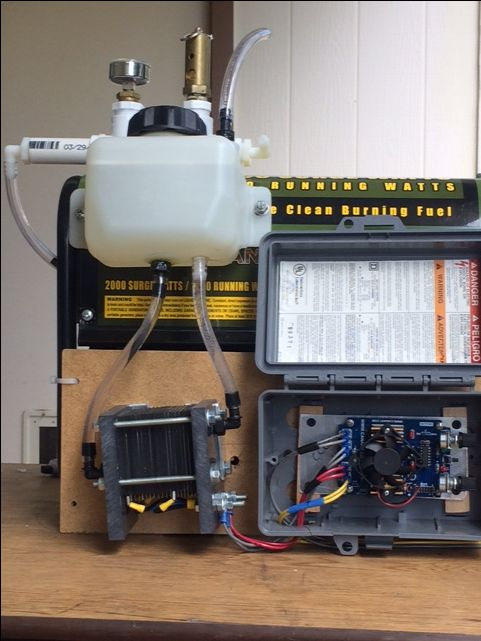 how to build a hho fuel cell