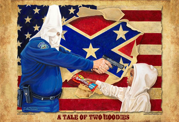 The Microscopic Giant » eBay pulls anti-racist painting, sells G. Zimmerman one instead $100,099.99