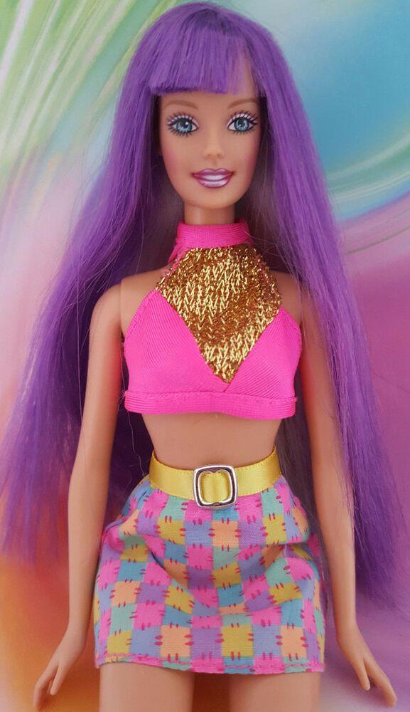Lot of 4 Barbie Fashionistas//Skipper//Swim Dolls /& Accessories Package Damage