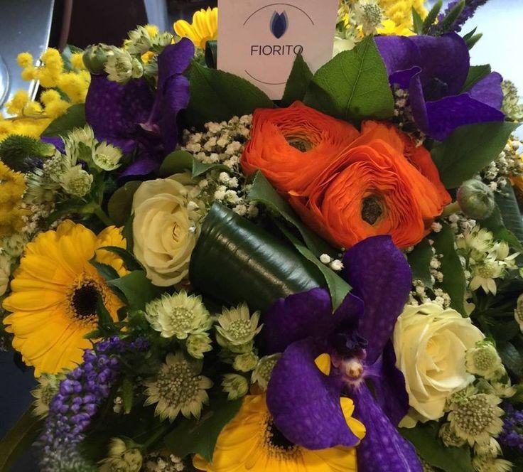 Un bouquet Fiorito che emana energia e solarità! #Fiorito #fiori #bouquet #energia #sorrisi #mazzodifiori
