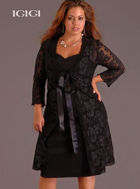 Vestidos elegantes para señoras gorditas