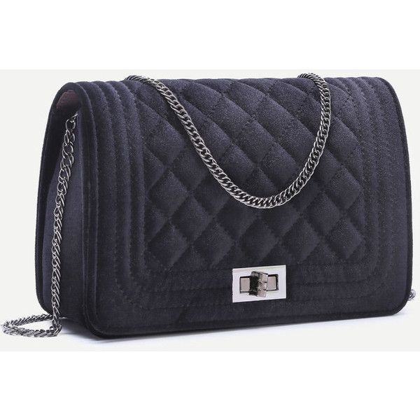 Best 25+ Quilted handbags ideas on Pinterest | DIY quilted bags ... : black quilted chain bag - Adamdwight.com