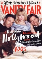 Ben Affleck, Emma Stone, and Bradley Cooper on Vanity Fair's Hollywood Cover