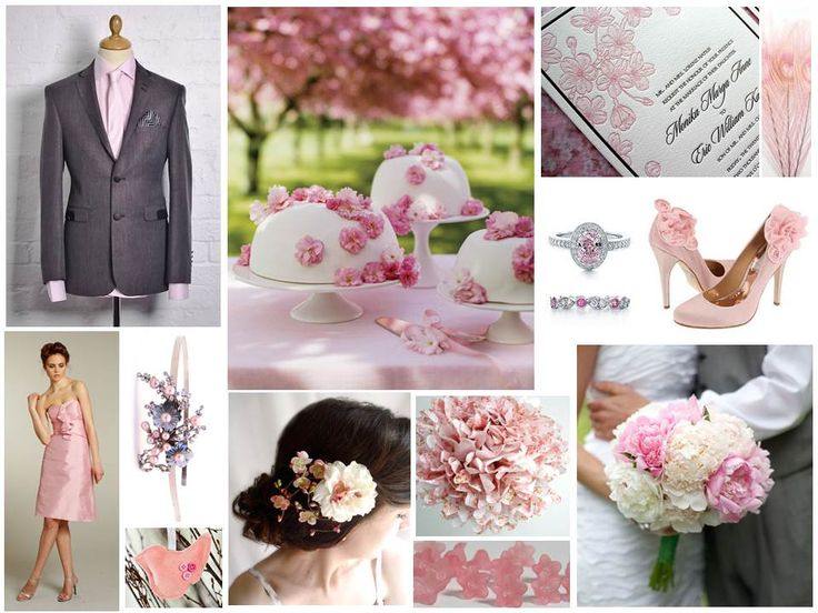 Pink Spring Wedding Inspiration Board: Pink Wedding, Pink Pearls, Chic Wedding, Pretty In Pink, Spring Wedding, Pretty Pink, Wedding Photos, Wedding Inspiration Boards, Spring Blossoms