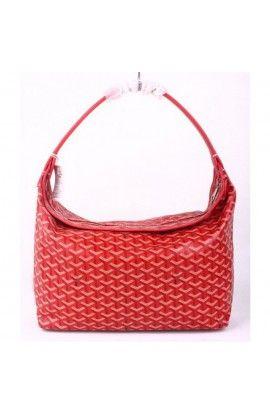 Goyard Fidji Hobo Bag Red