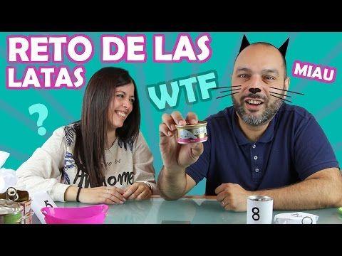 RETO DE LAS LATAS!!! TIN CAN CHALLENGE!!! - YouTube