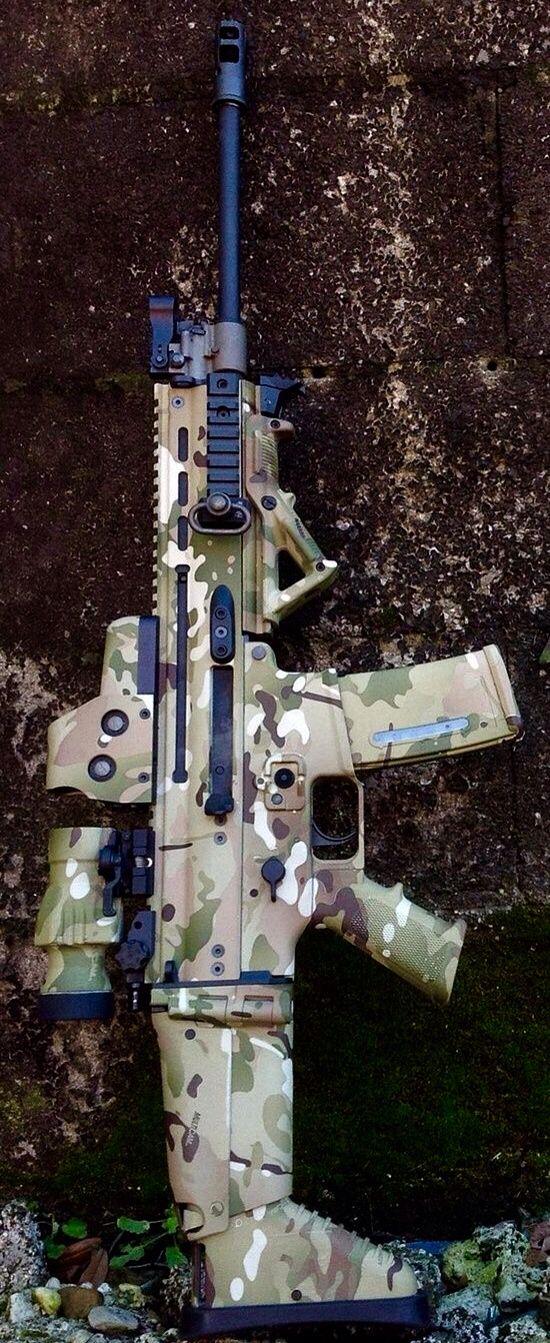 Joint Force Enterprises Custom FN Herstal SCAR 5.56x45MM NATO