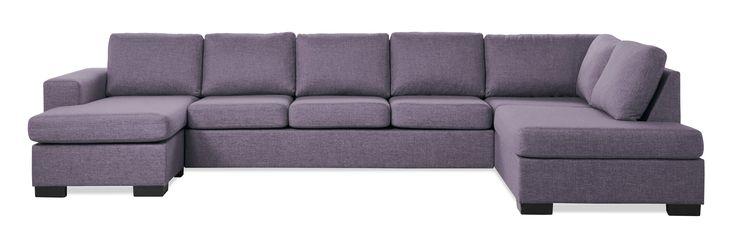 Nevada 4-sits soffa med schäslong och divan från Mio.