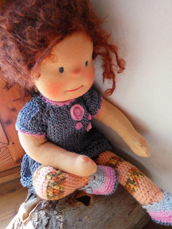 Waldorf doll Steiner girl by MeseHely on Etsy