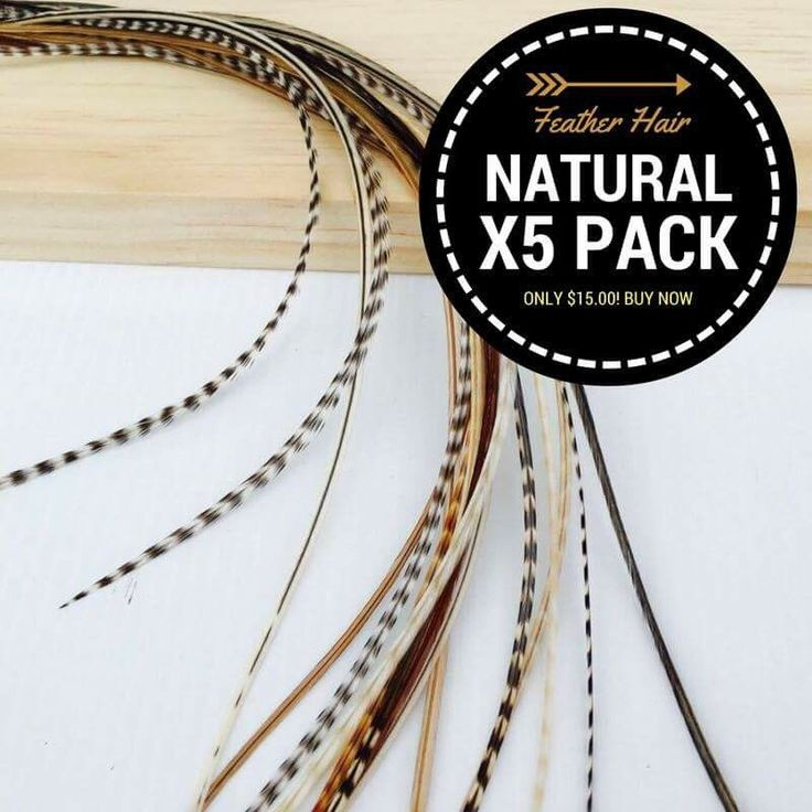 A personal favourite from my Etsy shop https://www.etsy.com/au/listing/456732500/5-pack-natural-feather-hair-extensions-7