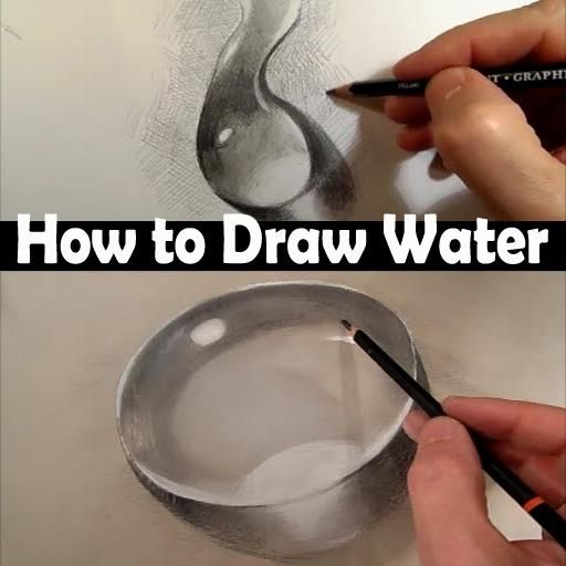 "How to Draw Water Tutorial - Quick & Easy step by step can learn ""How to Draw Water for beginner"" tutorials with free tutorials pen, pencil, photoshop, illusion easy drawings sketches and other FREE for beginners Draw Water tutorials. Hope you enjoy :). All our tutorials include simple to follow ""How to Draw Water"" step-by-step will give you the basic techniques for Draw a Water Water Drop Quickly & Easily, and you are encourage to experiment and develop your own unique flair and style..."