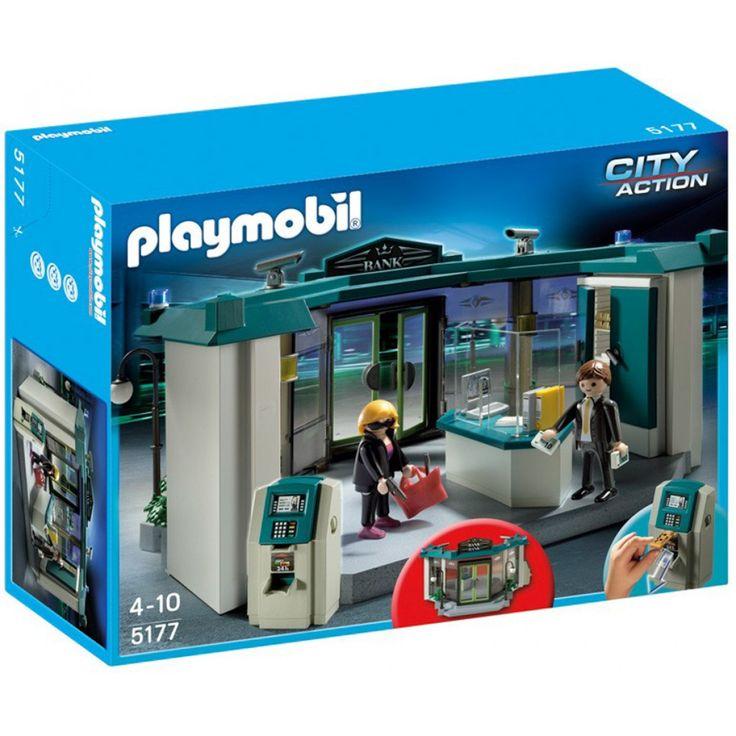 Playmobil Τράπεζα με ATM 5177