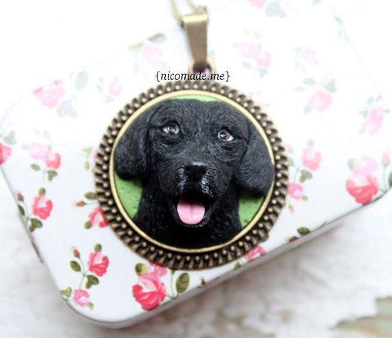 Custom dog portrait labrador portrait custom pet by NicomadeMe