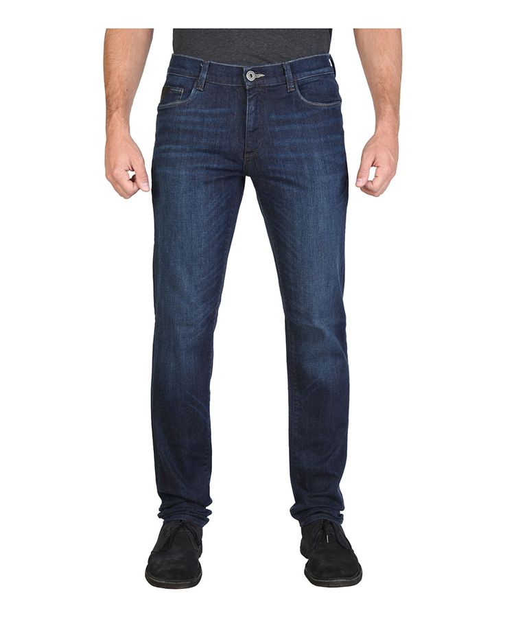 Men's clothing - jeans regular - five pockets  - composition: 98% cotton - 2% spandex - wash at 60°c - Jeans men Blue