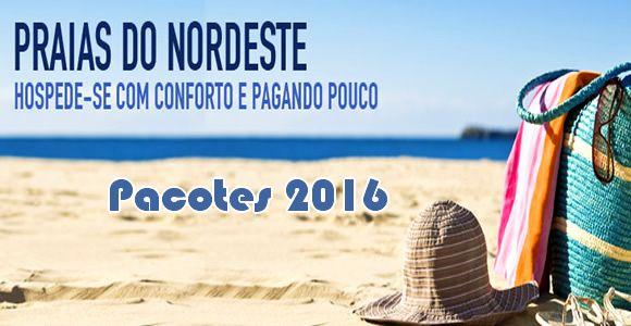 Pacotes economicos CVC para praias do nordeste em 2016 #nordeste #2016 #pacotes #viagem