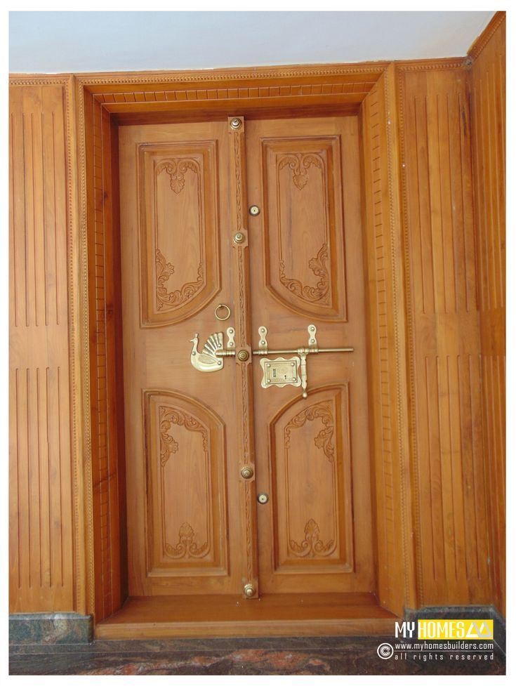 Door design indian home main door design for Main door design images