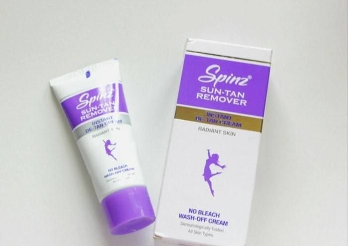 Look, what Indian Makeup and Beauty Blog have to say about the effectiveness of CavinKareIndia's Spinz Sun Tan Remover!