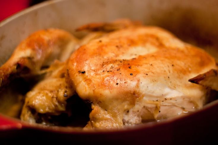 Easiest Roast Chicken Ever | The Domestic ManPots Roasted, Dutch Ovens ...