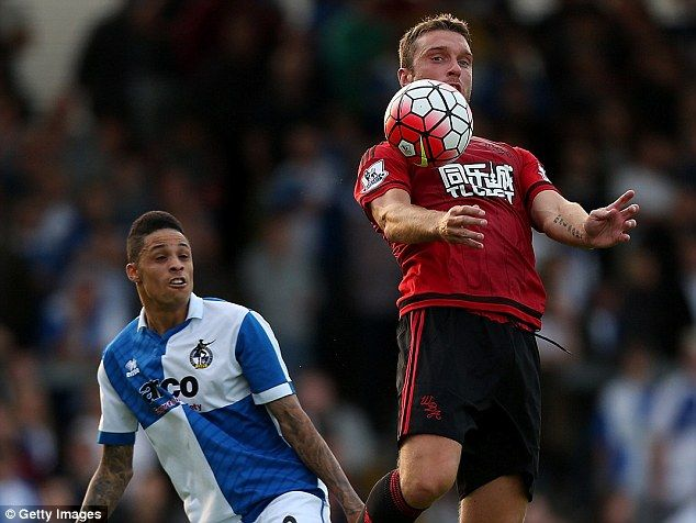 Bristol Rovers 0-4 West Brom: New signing Rickie Lambert scores twice in Baggies win