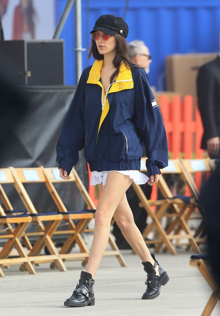 "hadidfashion: ""Bella Hadid out in Los Angeles, CA 2/8/2017 """