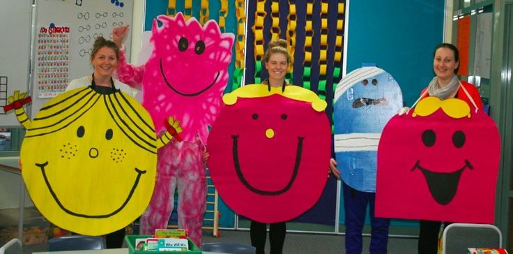 Mr Men and Little Miss Characters