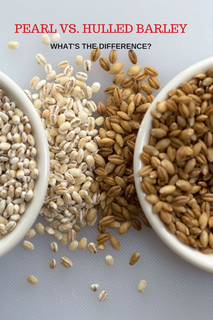 Find out how pearl and hulled barley differ. Which is more nutritious? How to cook each type? When to use only one of them and when you can use either. Come here for all the answers.