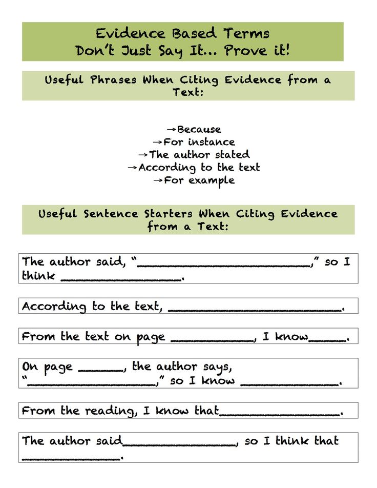 introducing evidence essay Even short essays perform several different operations: introducing the  the first  question to anticipate from a reader is what: what evidence shows that the.