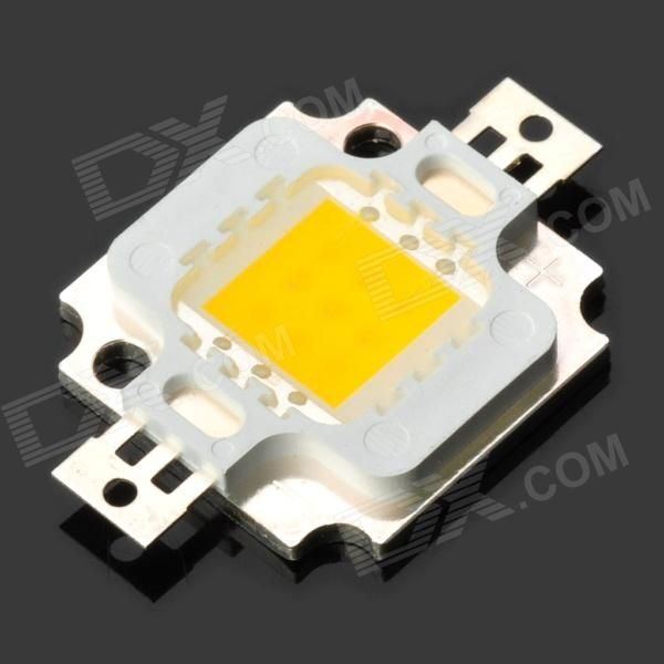 DIY 10W 1000lm 3300K Warm White Light LED Module (12V). Material Copper + silicone+ epoxy resin Color White Quantity 1 Emitter Type LED Total Emitters 1 Power 10 W Color BIN Warm white Rate Voltage 12 V Luminous Flux 900~1000 lm Color Temperature 2800~3300 K Application Projector lamp and street lamp light source Packing List 1 x LED module. Tags: #Lights #Lighting #Bulbs #and #Strips #LED #Bulb #Parts #Leds
