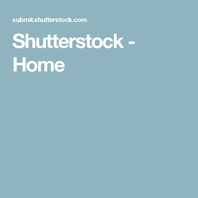 Shutterstock - Home
