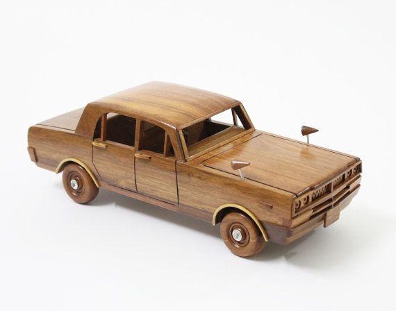 Skyline car - Wooden car handmade