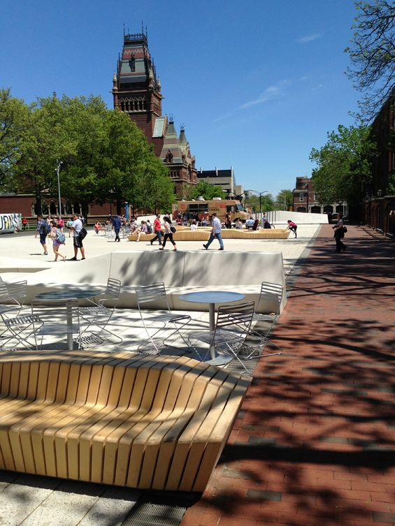 The Plaza at Harvard University | Cambridge USA | Stoss « World Landscape Architecture – landscape architecture webzine