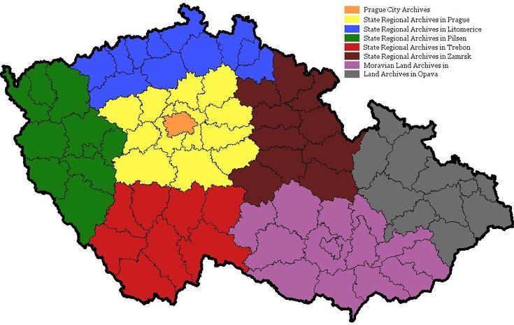 Czech Genealogy for Beginners: Czech Archives overview
