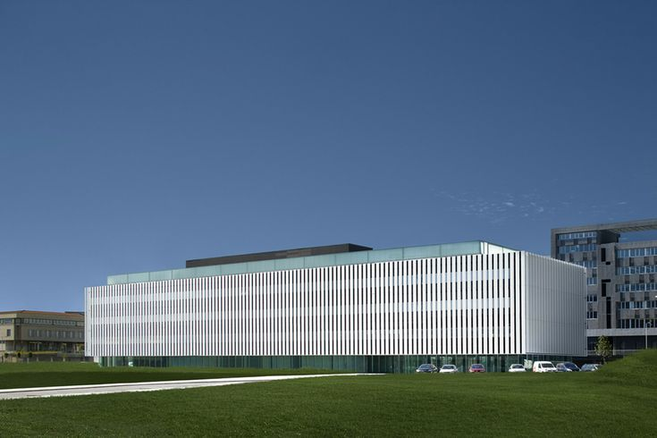 Sede do Parque Científico da Universidade do País Basco,© Aitor Ortiz