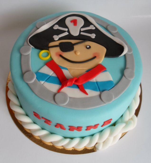 Pirate birthday cake http://alatarte.wix.com/alatarte
