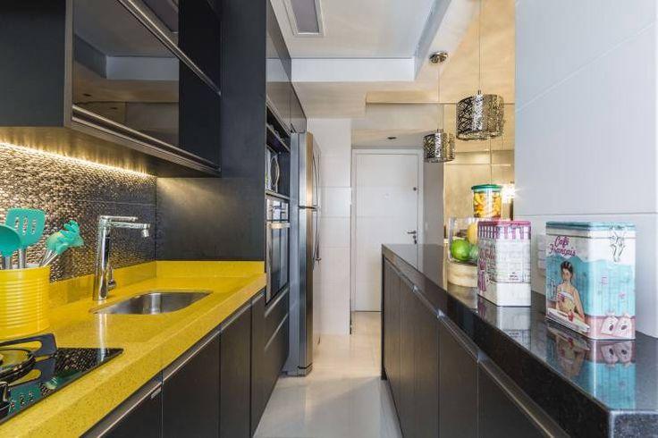 Apartamento de 40 m² parece muito maior graças às boas ideias de decoração