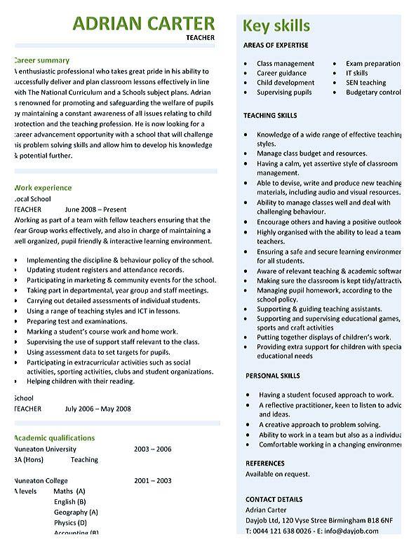 As 25 melhores ideias de Good resume format no Pinterest Dicas - appropriate font for resume