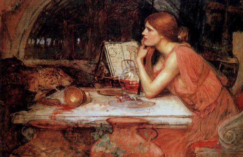 The Sorceress. Waterhouse. 1913.