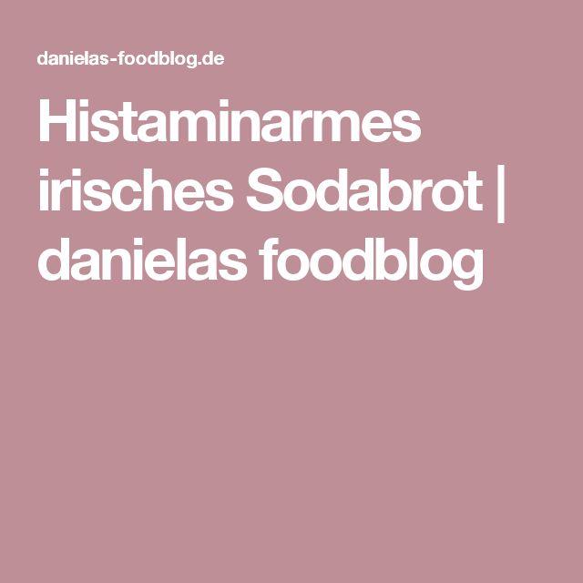 Histaminarmes irisches Sodabrot | danielas foodblog