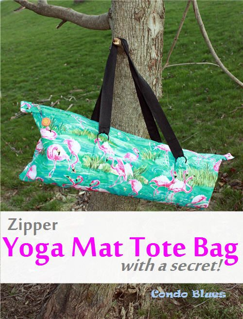 Knitting Pattern Yoga Mat Tote : 17 Best ideas about Bag Tutorials on Pinterest Diy bags ...