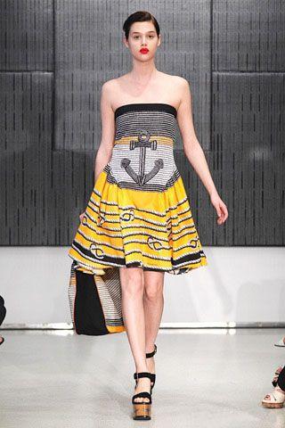 Морской стиль от Yves Saint Laurent