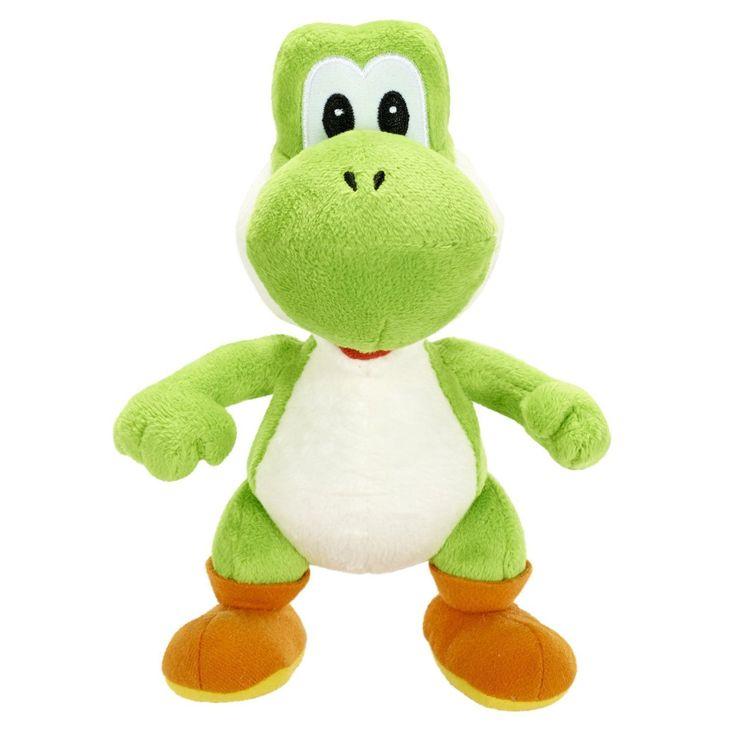 Super Mario - Yoshi Plush Toy (30.5cm)  Manufacturer: Goldie Marketing Enarxis Code: 013444 #toys #plush #Nintendo #Yoshi #videogames